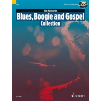 SCHOTT RICHARDS TIM - BLUES, BOOGIE AND GOSPEL COLLECTION - PIANO