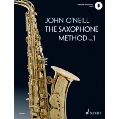 SCHOTT O'NEILL JOHN - THE SAXOPHONE METHOD VOL.2