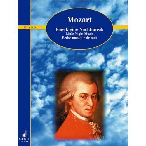 SCHOTT MOZART W.A. - LITTLE NIGHT MUSIC KV 525 - PIANO