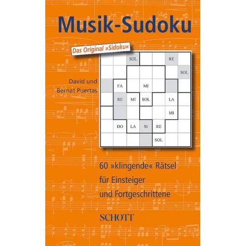 SCHOTT MUSIK-SUDOKU BAND 1