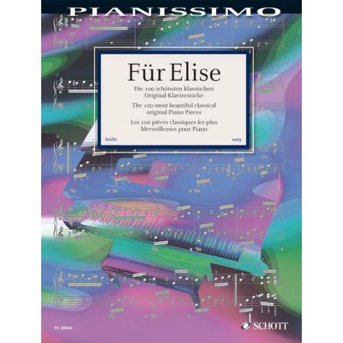 SCHOTT FOR ELISE - PIANO