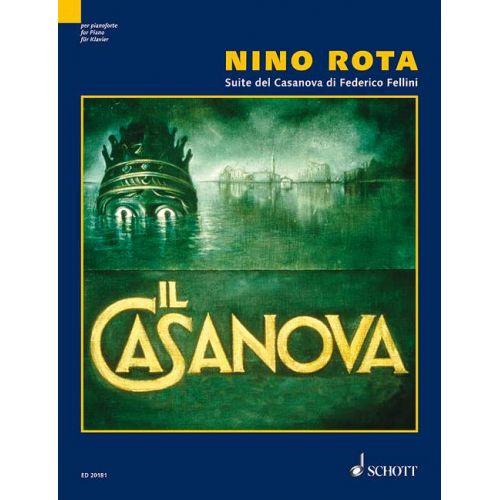SCHOTT ROTA NINO - SUITE DEL CASANOVA DI FEDERICO FELLINI - PIANO