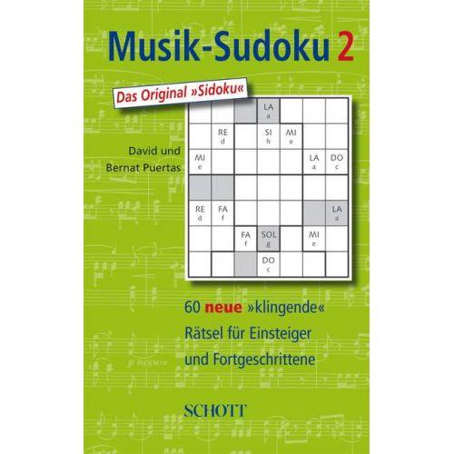 SCHOTT MUSIK-SUDOKU BAND 2