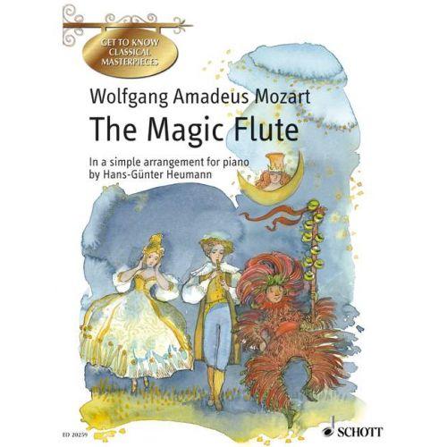 SCHOTT MOZART W.A. - THE MAGIC FLUTE K 620 - PIANO