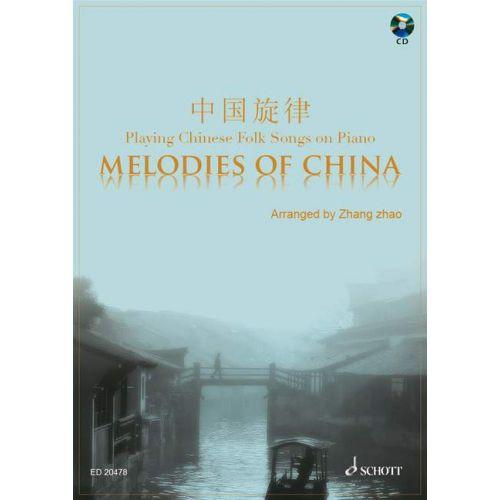 SCHOTT MELODIES OF CHINA - PIANO