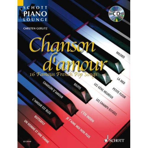 SCHOTT CHANSON D'AMOUR - PIANO