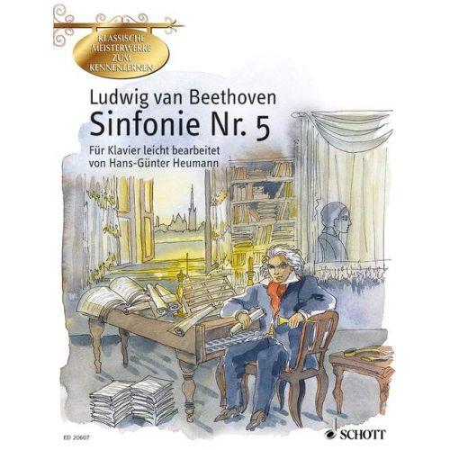 SCHOTT BEETHOVEN L.V. - SYMPHONY NO. 5 C MINOR OP. 67 - PIANO
