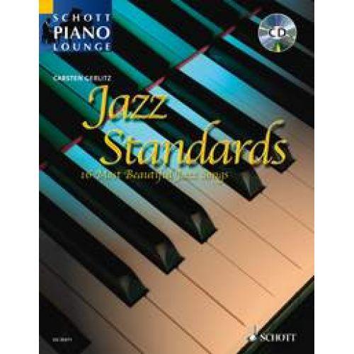 SCHOTT JAZZ STANDARDS + CD - PIANO