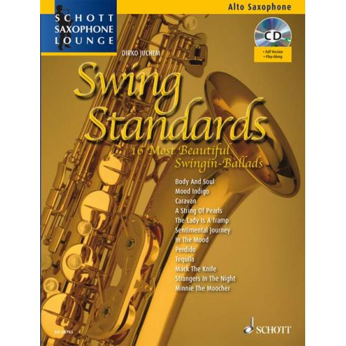 SCHOTT SWING STANDARDS - ALTO SAXOPHONE