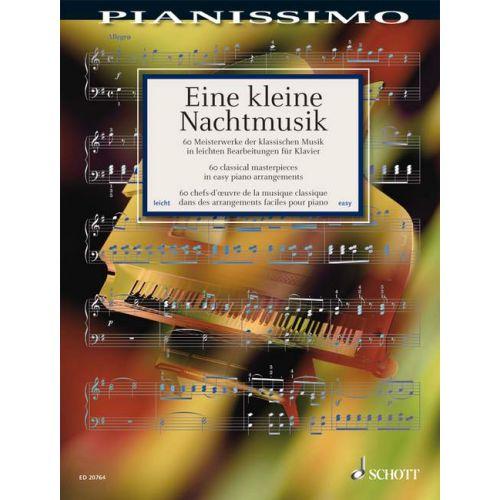 SCHOTT EINE KLEINE NACHTMUSIK - PIANO