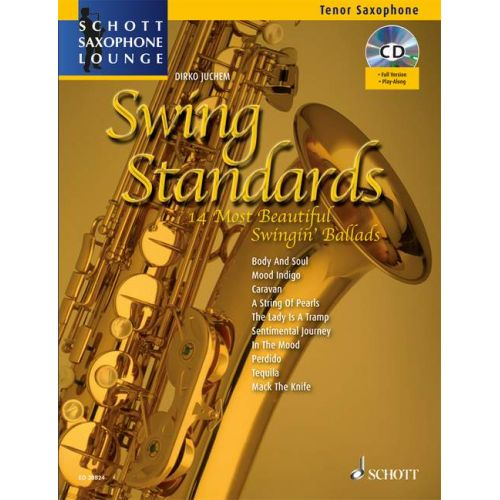 SCHOTT SWING STANDARDS - TENOR SAXOPHONE