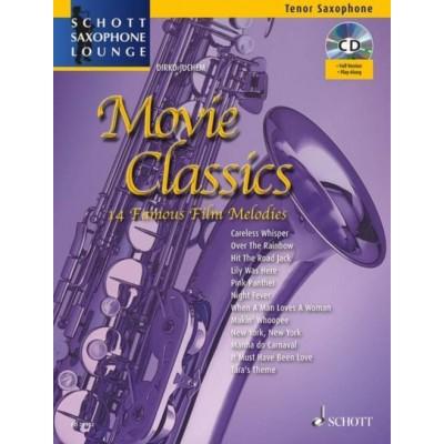 SCHOTT JUCHEM D. - 14 MOVIE CLASSICS - SAXOPHONE TENOR