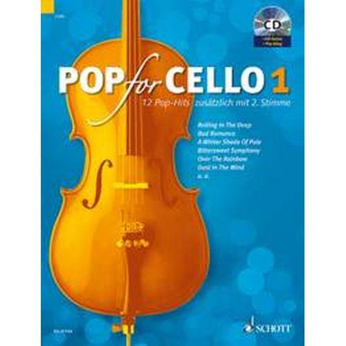 SCHOTT POP POP FOR CELLO VOL.1 + CD