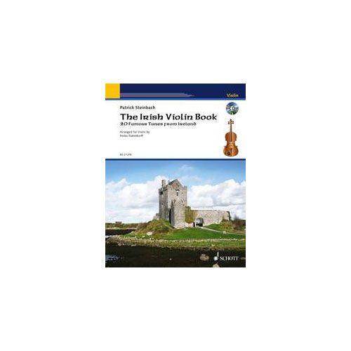 SCHOTT THE IRISH VIOLIN BOOK + CD