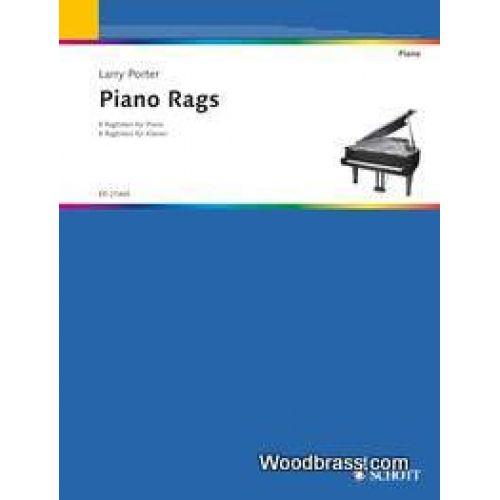 SCHOTT PORTER LARRY - PIANO RAGS