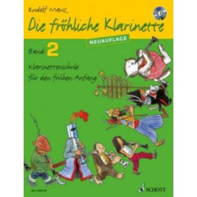 SCHOTT MAUZ RUDOLF - DIE FROHLICHE KLARINETTE VOL.2 + CD