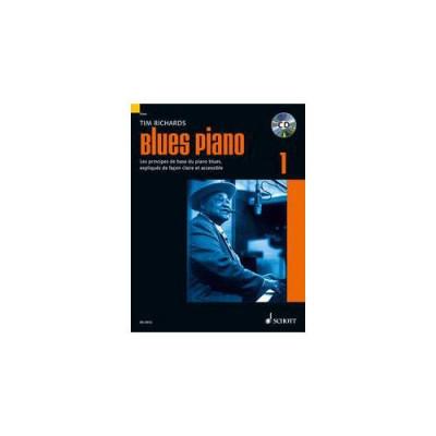 SCHOTT TIM RICHARDS - BLUES PIANO VOL. 1 + CD