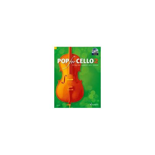SCHOTT POP FOR CELLO VOL.2 + CD