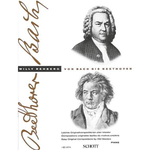 SCHOTT FROM BACH TO BEETHOVEN HEFT 1 - PIANO