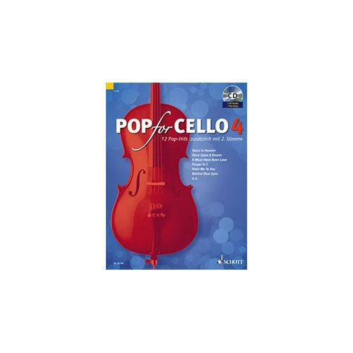 SCHOTT POP FOR CELLO VOL.4 + CD