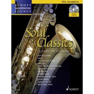 SCHOTT SOUL CLASSICS - ALTO SAXOPHONE + CD