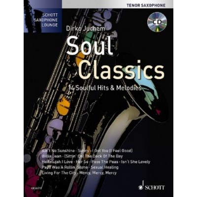 SCHOTT SOUL CLASSICS - TENOR SAXOPHONE + CD