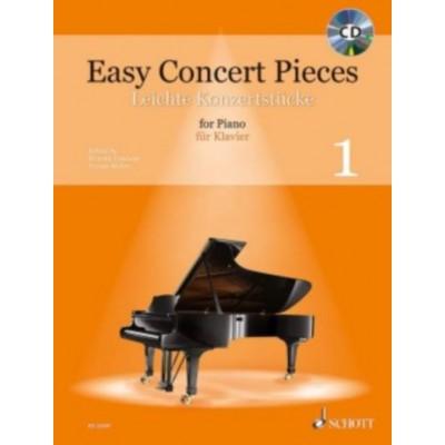 SCHOTT SCHOTT EASY CONCERT PIECES VOL.1 - PIANO