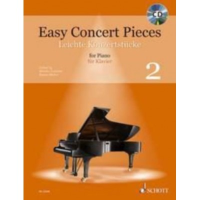 SCHOTT SCHOTT EASY CONCERT PIECES VOL.2 - PIANO