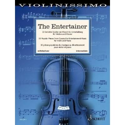 SCHOTT VIOLINISSIMO - THE ENTERTAINER - VIOLON & PIANO