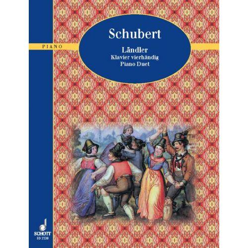 SCHOTT SCHUBERT FRANZ - LANDLER - PIANO