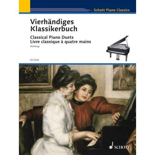 SCHOTT CLASSICAL PIANO DUETS - PIANO