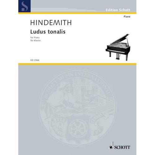 SCHOTT HINDEMITH P. - LUDUS TONALIS - PIANO