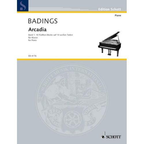 SCHOTT BADINGS HENK HERMAN - ARCADIA BAND 1 - PIANO