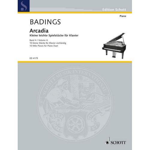 SCHOTT BADINGS HENK HERMAN - ARCADIA BAND 4 - PIANO