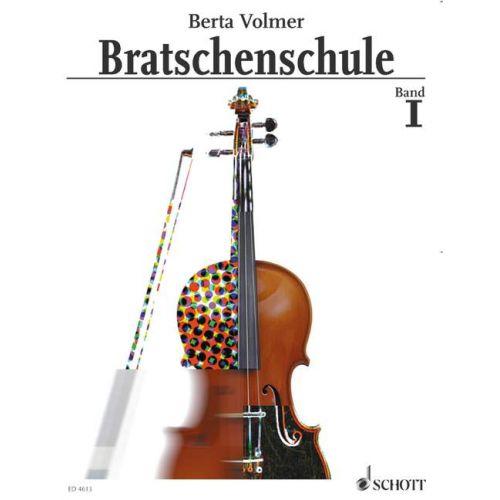 SCHOTT VOLMER BERTA - BRATSCHENSCHULE BAND 1 - VIOLA