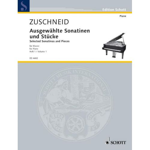SCHOTT SELECTED SONATINAS AND PIECES FOR PIANO BAND 1 - PIANO