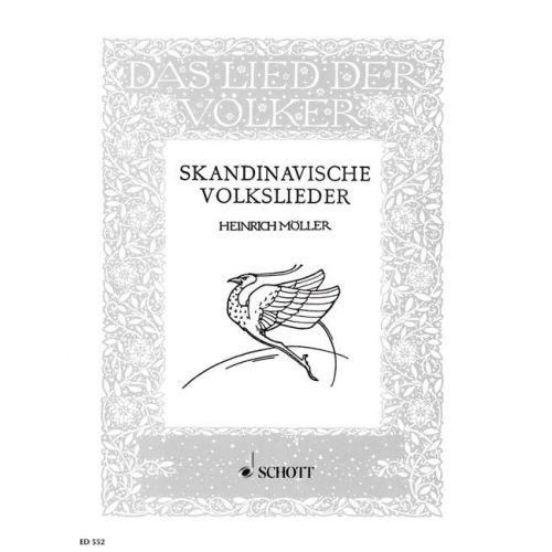 SCHOTT SKANDINAVISCHE VOLKSLIEDER - VOICE AND PIANO