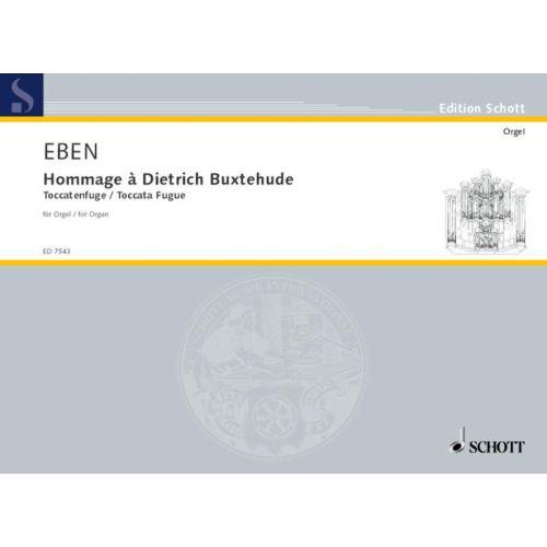 SCHOTT EBEN PETR - HOMMAGE A DIETRICH BUXTEHUDE - ORGAN