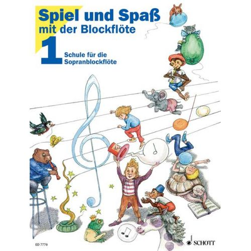 SCHOTT ENGEL G. / HEYENS G. / HUNTELER K. / LINDE H.M. - FUN AND GAMES WITH THE RECORDER BAND 1 - RECORDER
