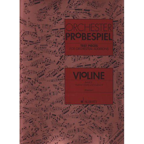 SCHOTT ORCHESTER-PROBESPIEL VOL. 2 - VIOLON