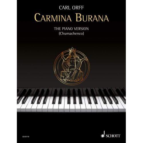 SCHOTT ORFF CARL - CARMINA BURANA - PIANO