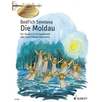 SCHOTT SMETANA B. - DIE MOLDAU - PIANO