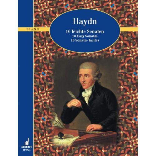 SCHOTT HAYDN JOSEPH - TEN EASY SONATAS - PIANO
