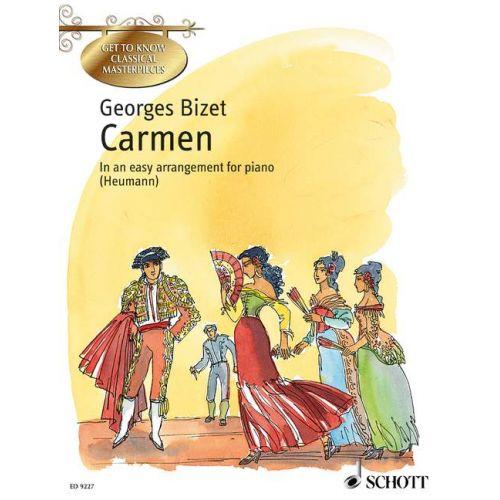 SCHOTT BIZET GEORGES - CARMEN - PIANO