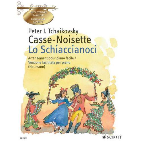SCHOTT TCHAIKOVSKY P.I. - CASSE-NOISETTE / LO SCHIACCIANOCI OP. 71 - PIANO