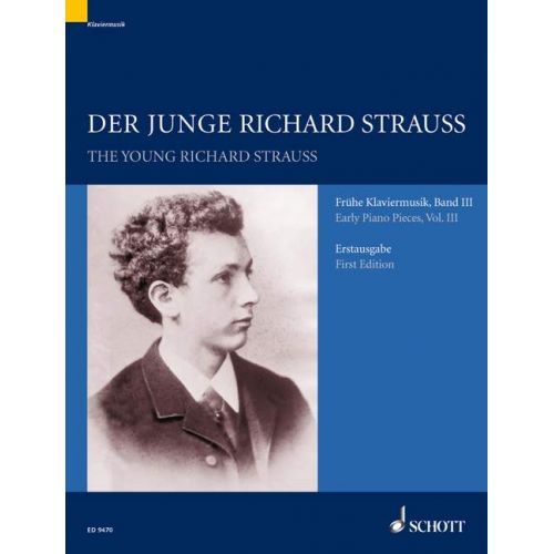 SCHOTT STRAUSS RICHARD - THE YOUNG RICHARD STRAUSS BAND 3 - PIANO