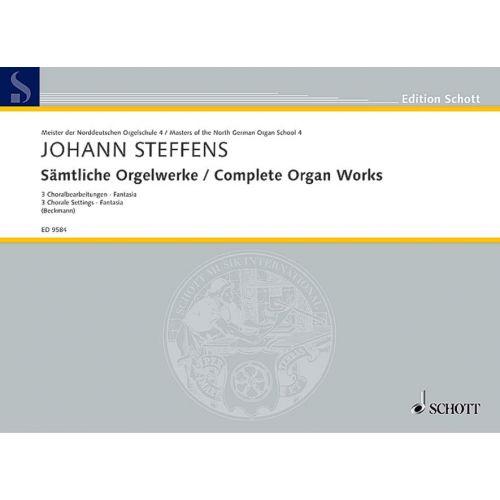 SCHOTT STEFFENS JOHANN - COMPLETE ORGAN WORKS - ORGAN