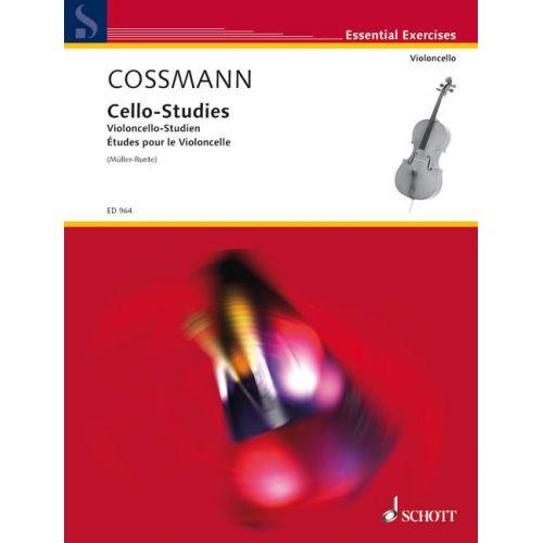 SCHOTT COSSMANN BERNHARD - CELLO STUDIES - CELLO