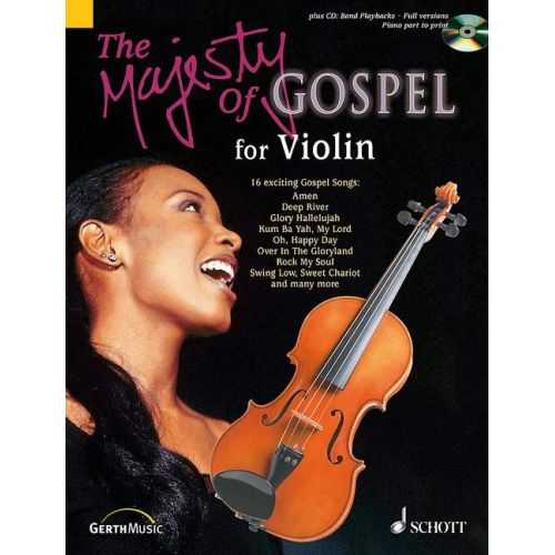 SCHOTT RIEGER JOCHEN - THE MAJESTY OF GOSPEL - VIOLIN