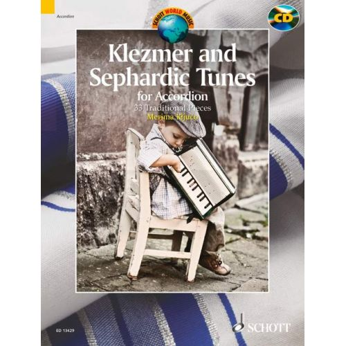 SCHOTT KLEZMER AND SEPHARDIC TUNES + CD - ACCORDON
